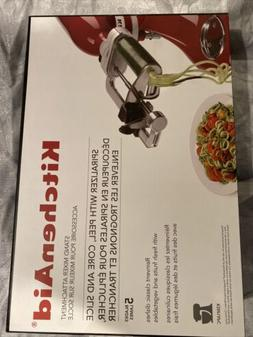 NEW - Kitchenaid KSM1APC Stand Mixer Spiralizer Attachment w
