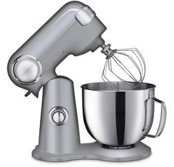NEW Cuisinart Precision Master 5.5 Quart Stand Mixer Brushed