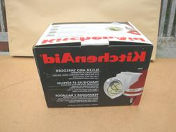 NEW KitchenAid RVSA Slicer & Shredder Attachment for Stand M