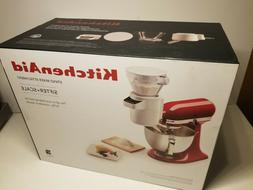 NEW KitchenAid Stand Mixer Sifter+Digital Scale Attachment K