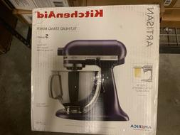 New KitchenAid Stand Mixer tilt 5-QT RRK150BV Artisan Black