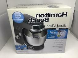 NIB New Hamilton Beach 300 Watt Stand Mixer 63390 Factory Se