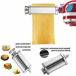 Pasta Roller Attachment Kitchenaid Stand Mixer Stainless Ste