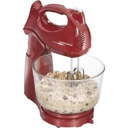 Hamilton Beach Power Deluxe 4-quart Stand Mixer, Red