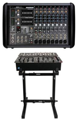 Mackie PPM608 8 Channel 1000 Watt Pro Active Powered Mixer w