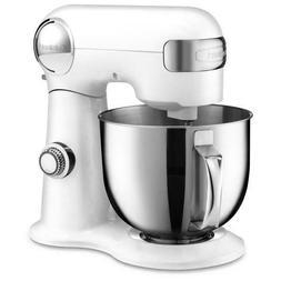 Cuisinart Precision Master 5.5 Quart Stand Mixer - White - B
