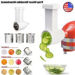 Prep Slicer/Shredder Attachment Vegetable For Kitchenaid Sta