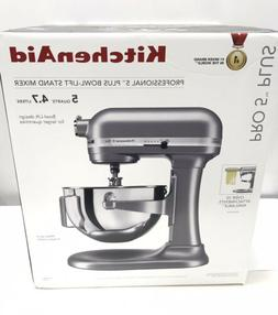 KitchenAid Professional Pro 5 PLUS  5QT Stand Mixer Silver K