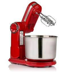 Ovente Professional Stand Mixer 3.7 Quart Stainless Steel Mi