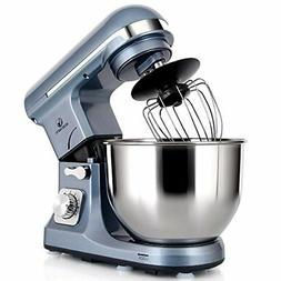 Professional Stand Mixer 500W 5Qt Bowl 6Speed TiltHead Food