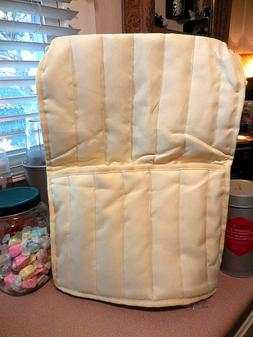 Quilted Cover for Stand Mixer ~ Butter Yellow  Fits Sunbeam