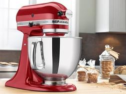 KitchenAid RRK150CA Artisan Series Stand Mixer, 5 quart, Can