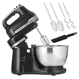 CHEFHQ SIDE-WINDER 3 Quart Swing Stand Mixer - 2-in-1 Stand