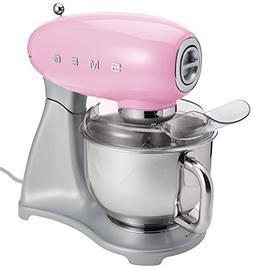 Smeg SMF01PKUS Stand Mixer, Pink
