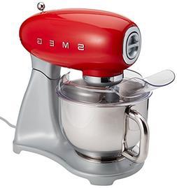 Smeg SMF01RDUS Stand Mixer, Red