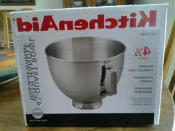 KitchenAid SS stand mixer bowl 4.5 QT