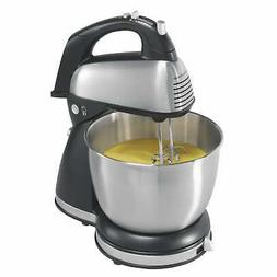 Hamilton Beach Stainless 6 Speed Hand and Stand Mixer Silver