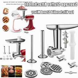 Stainless Steel Meat Grinder Attachment for All models Kitch