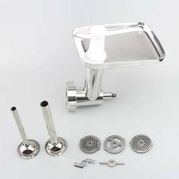 stainless steel meat grinder food chopper attachment
