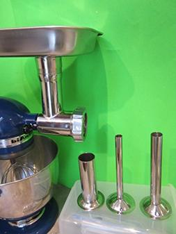 Original Stainless Steel Meat Grinder for Kitchenaid Mixer w