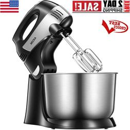 Stand Mixer 2-in-1 Hand Mixer, Detachable Mixer with Turbo a