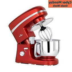 Stand Mixer, 5.5 Qt. Kitchen Mixer, 650W 6 Speed TiltHead St
