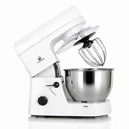 MURENKING Stand Mixer 5-Qt 6-Speed Kitchen Electric Food Mix