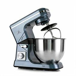 Stand Mixer 500W 5Qt 6Speed TiltHead Kitchen Food Mixer with