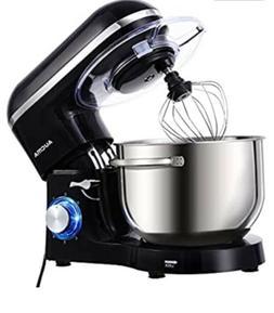 Aucma Stand Mixer,6.5-QT 660W 6-Speed Tilt-Head Food Mixer,