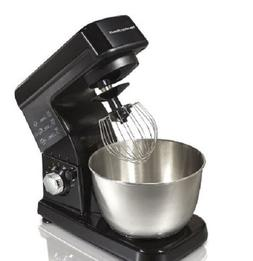 Stand Mixer 6-Speed Bowl 3 Attachments Counter Top Beater Ti
