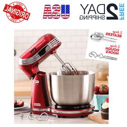 Stand Mixer 6 Speed Cooking Kitchen Dough Bread Cake Classic