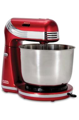Dash Stand Mixer 6 Speed Stand Mixer with 3 qt Stainless Ste