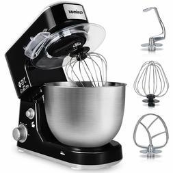 Stand Mixer, Cusimax 800W Dough Mixer Tilt-Head Electric Mix