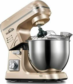 Stand Mixer Electric Food Mixer Kitchen with 5.5 Qt 6 Speeds