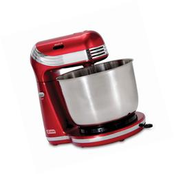 Dash Stand Mixer : 6 Speed Stand with 3 qt Stainless