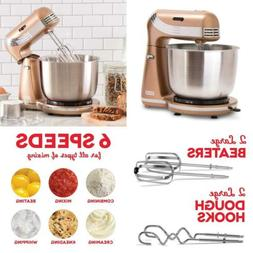 Dash Stand Mixer : 6 Speed Copper