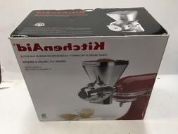 KITCHENAID® STAND MIXER GRAIN MILL GRINDER ATTACHMENT NEW I