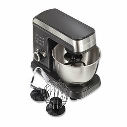6 Speed Stand Mixer Machine Mixing Kitchen Aid Stainless Bow