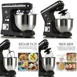 Stand Mixer MK36 500W 6-Speed 5-Quart Stainless Steel Bowl T