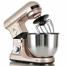 professional stand mixer 500w 5qt bowl 6speed