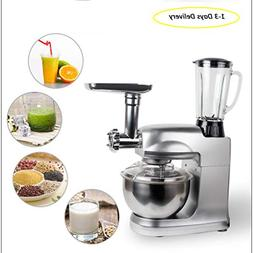 Enshey Stand Mixer 1000W 8-Speed 5L Stainless Steel Bowl Til