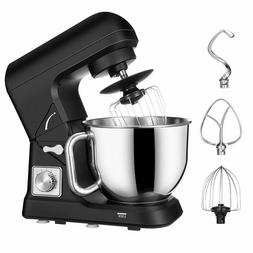 Stand Mixer Tilt Head, 5 Quart Classic 6 Speed 500W Kitchen
