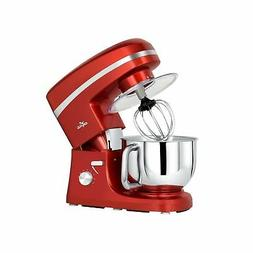 Litchi Stand Mixer, 5.5 Qt. Kitchen Mixer, 650W 6 Speed Tilt
