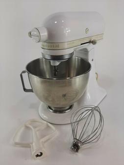 KitchenAid Stand Mixer Tilt Head White Model KSM90 With Atta