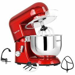 Stand Mixer tilthead 650W/120V Electric kitchen Mixer w/ 5.5