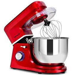 COSTWAY Stand Mixer, 660W Tilt-head Electric Kitchen Food Mi