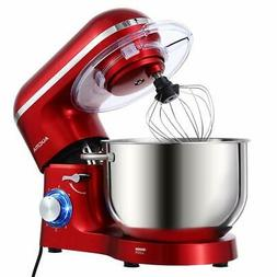 Aucma Stand Mixer6.5-QT 660W 6-Speed Tilt-Head Food Mixer Ki