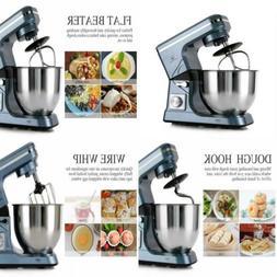Stand Mixers Mixer 500W 5-Qt 6-Speed Tilt-Head Kitchen Food