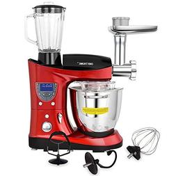 CHEFTRONIC tilt-head Multifunctional Stand Mixer 1000W Kitch
