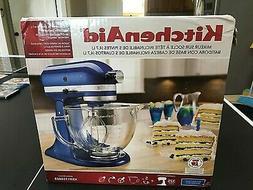 Kitchenaid Tilt Artisan KSM155GB electric BLUE stand mixer g